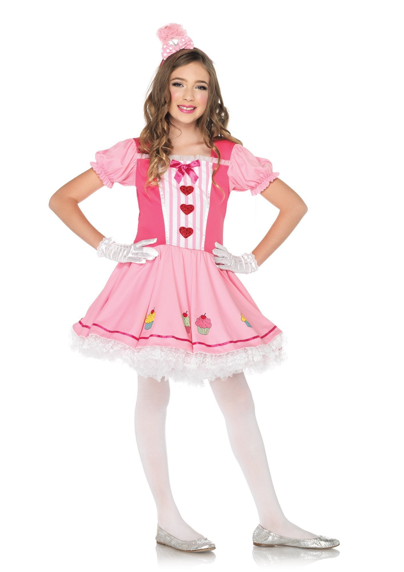 Leg Avenue Costumes LARGE / PINK Lil' Miss Cupcake Costume