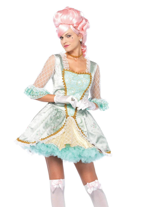 Leg Avenue Costumes LARGE Sexy Marie Antoinette Costume