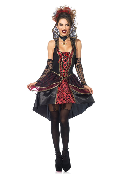 Leg Avenue Costumes LARGE Sexy Vampire Queen Costume