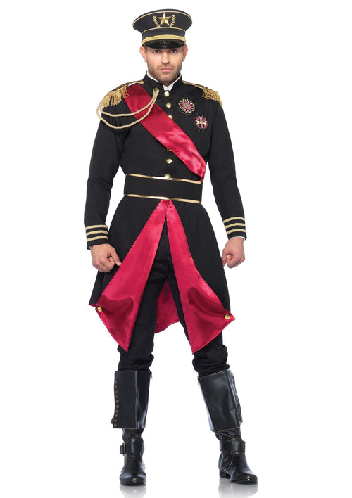 Leg Avenue Costumes MED/LGE / BLACK Military General Costume