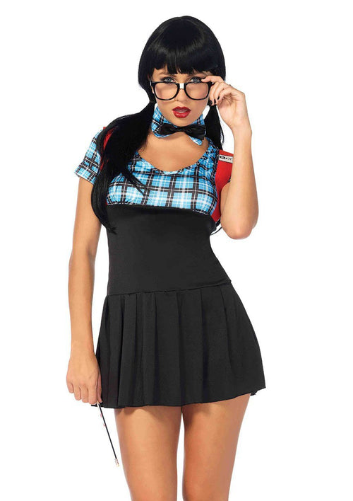 Leg Avenue Costumes MED/LGE / BLUE Naughty Nerd Costume