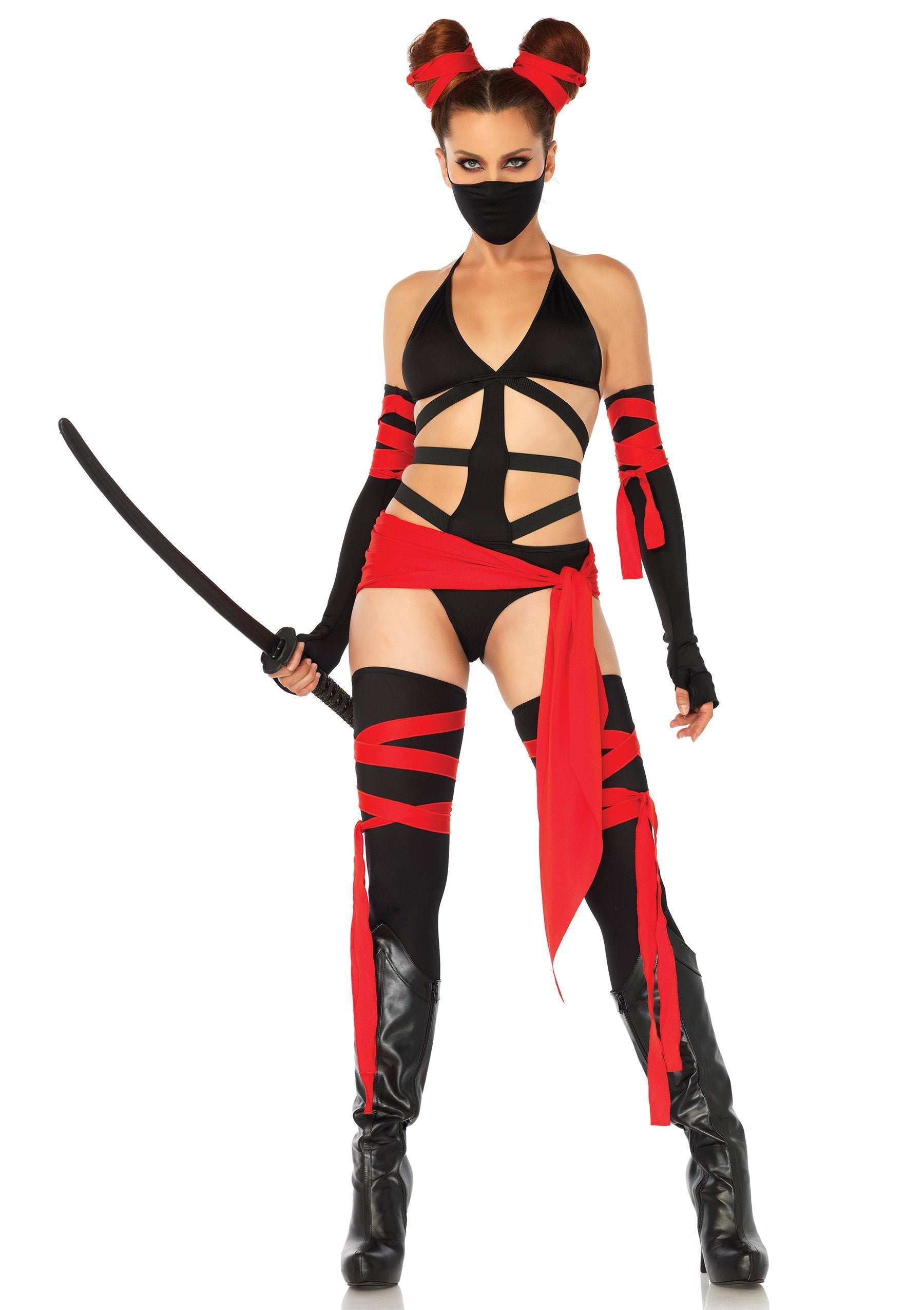 Leg Avenue Costumes MEDIUM Killer Ninja Costume