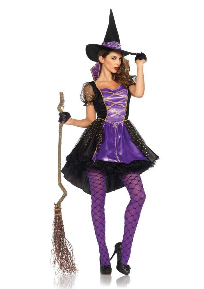 Leg Avenue Costumes MEDIUM/LARGE Adult Crafty Vixen Witch Costume