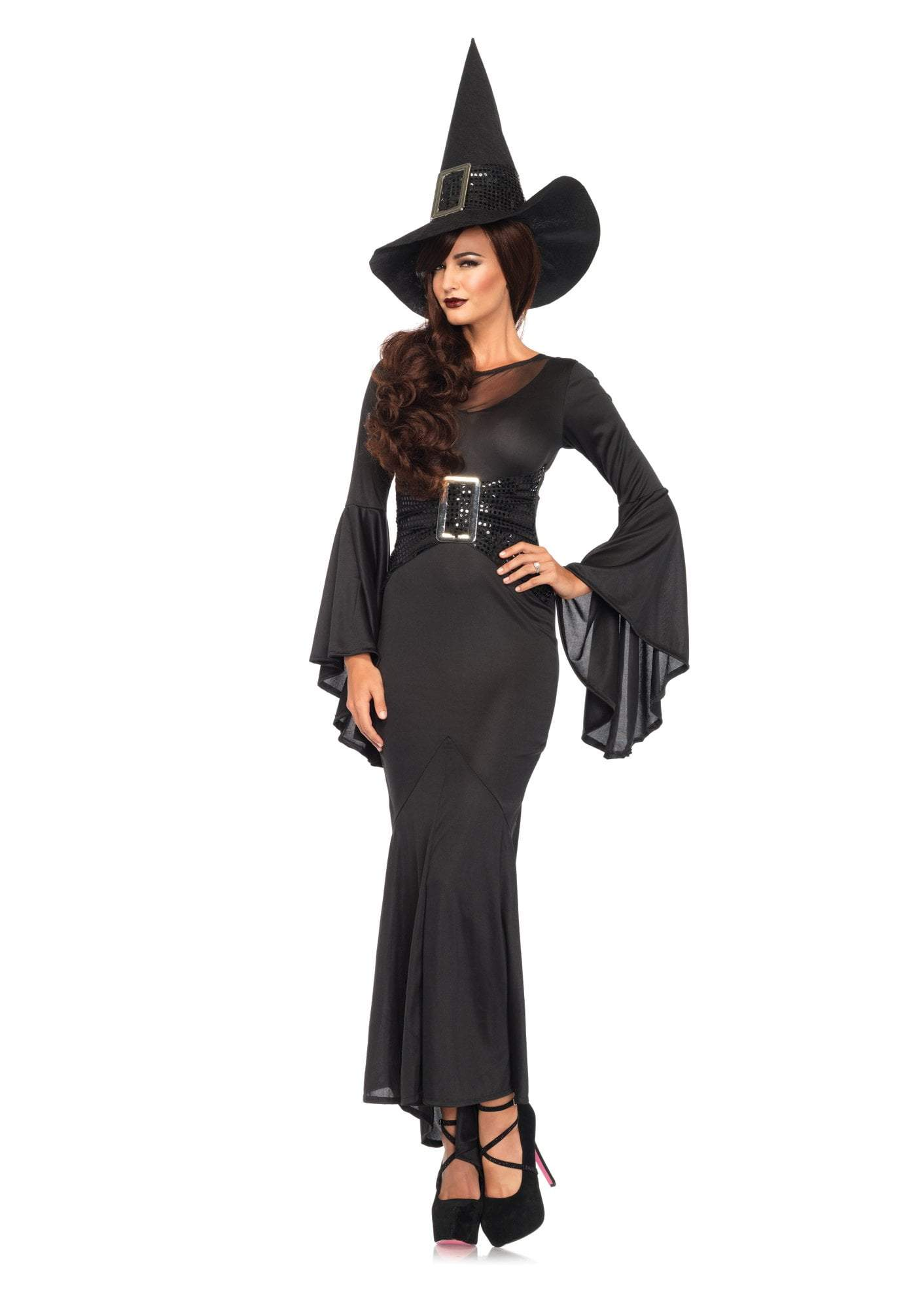 Leg Avenue Costumes MEDIUM/LARGE Adult Wickedly Sexy Witch Costume