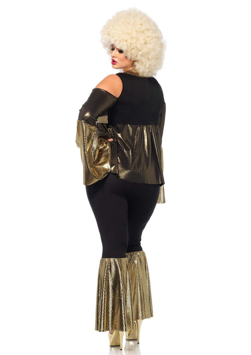 Leg Avenue Costumes Plus Size Disco Diva 70s Costume