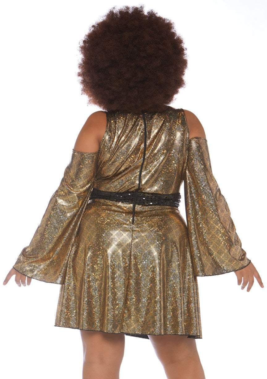 Leg Avenue Costumes Plus Size Disco Doll 70s Costume