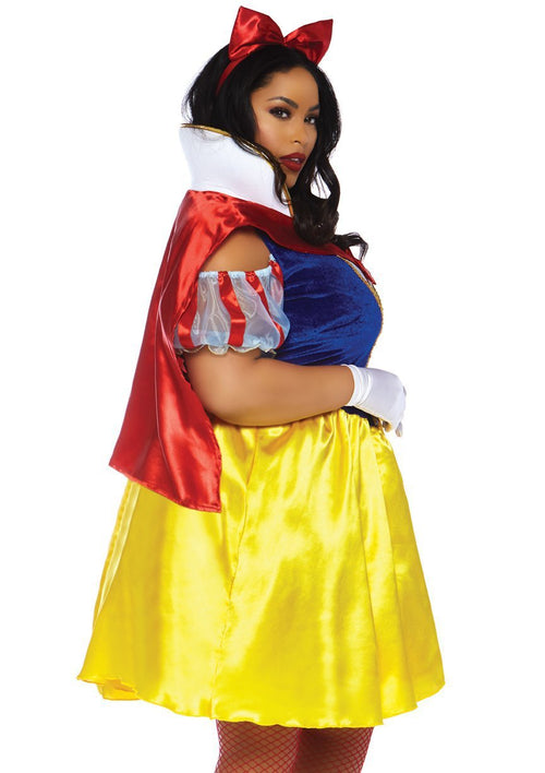 Leg Avenue Costumes Plus Size Fairytale Snow White Costume