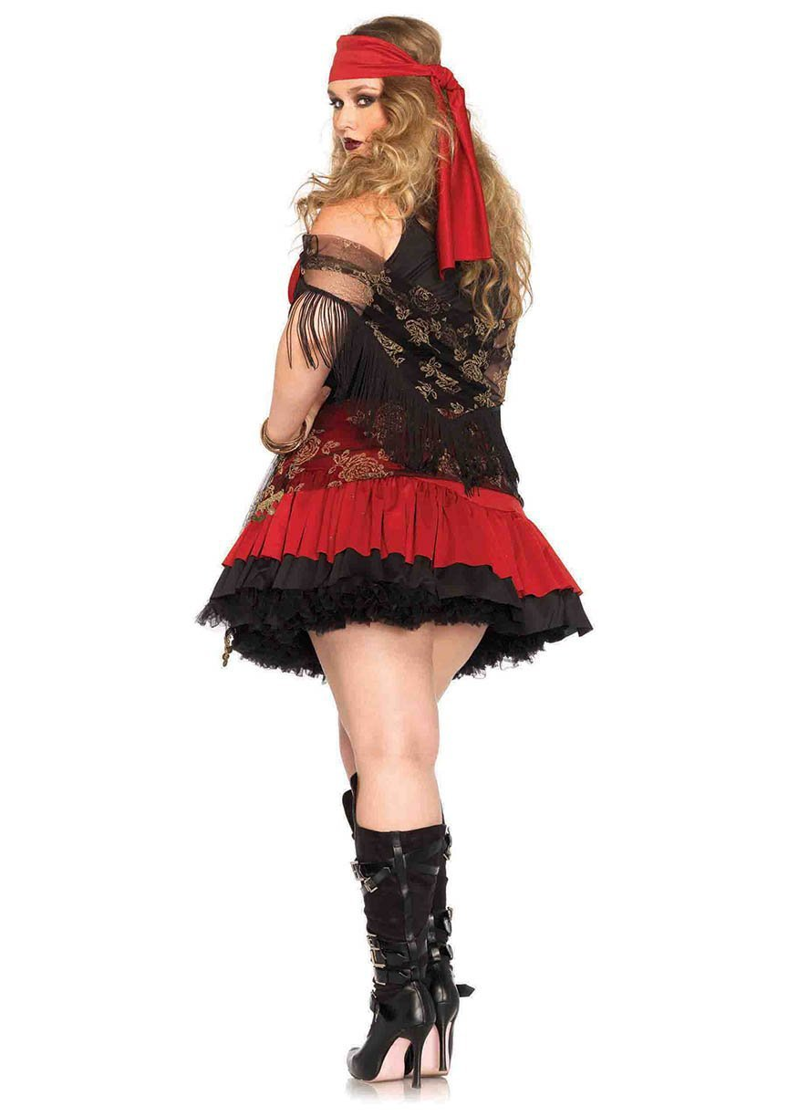Leg Avenue Costumes Plus Size Mystic Vixen Pirate Costume