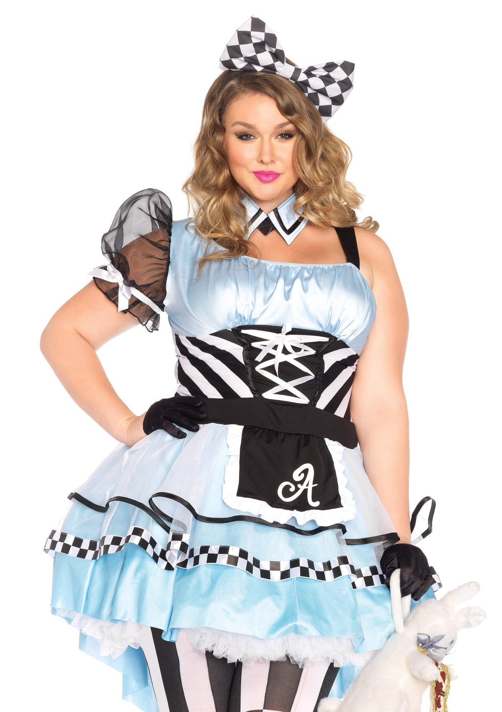 Leg Avenue Costumes Plus Size Psychedelic Alice Costume