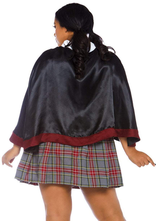 Leg Avenue Costumes Plus Size Spellbinding School Girl Costume