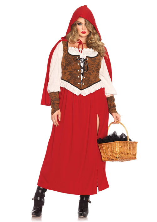 Leg Avenue Costumes Plus Size Woodland Red Riding Hood Costume