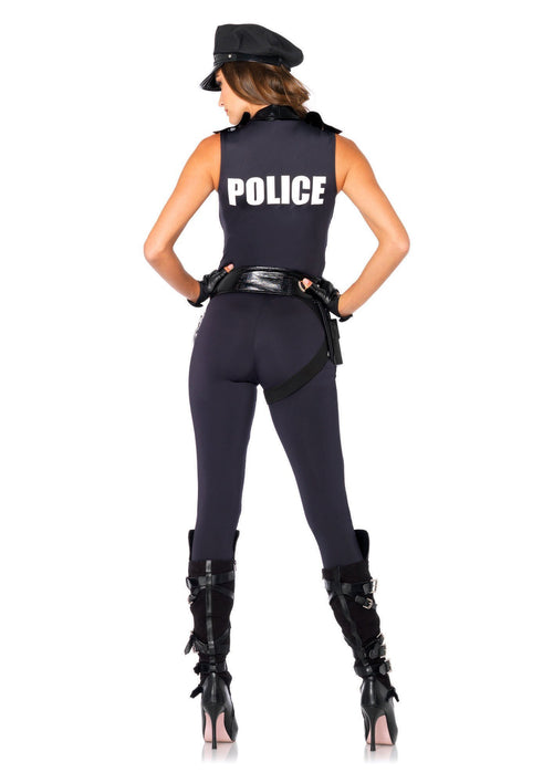 Leg Avenue Costumes Sexy Backup Officer Costume
