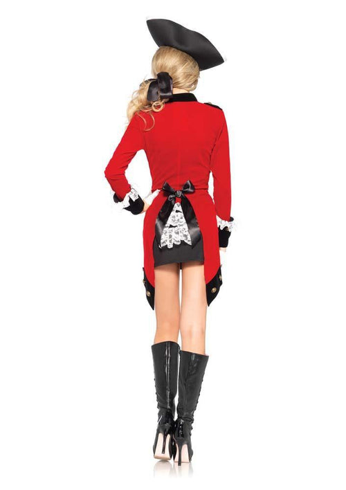 Leg Avenue Costumes Sexy Rebel Red Coat Costume -