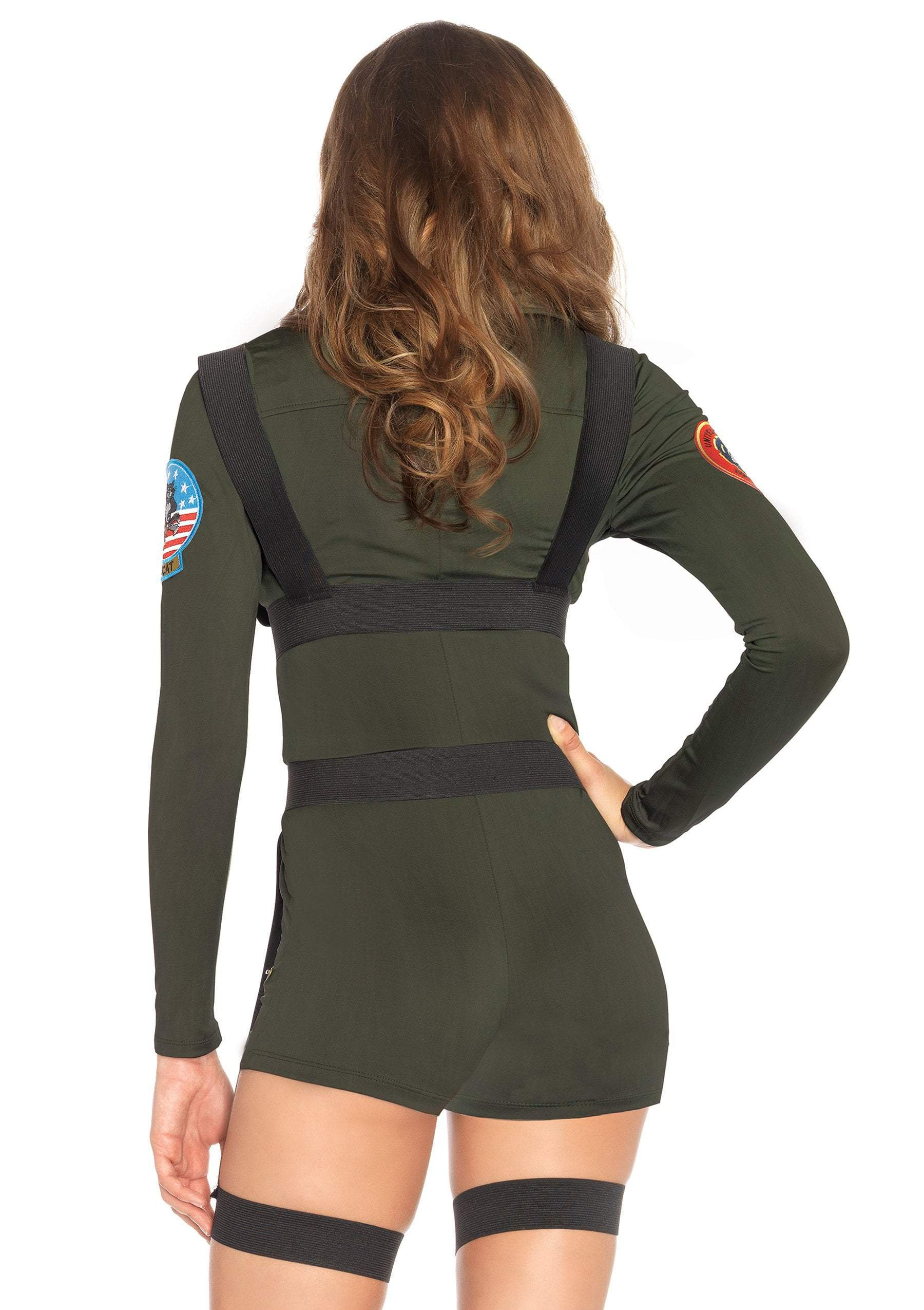 Leg Avenue costumes Top Gun Romper Costume