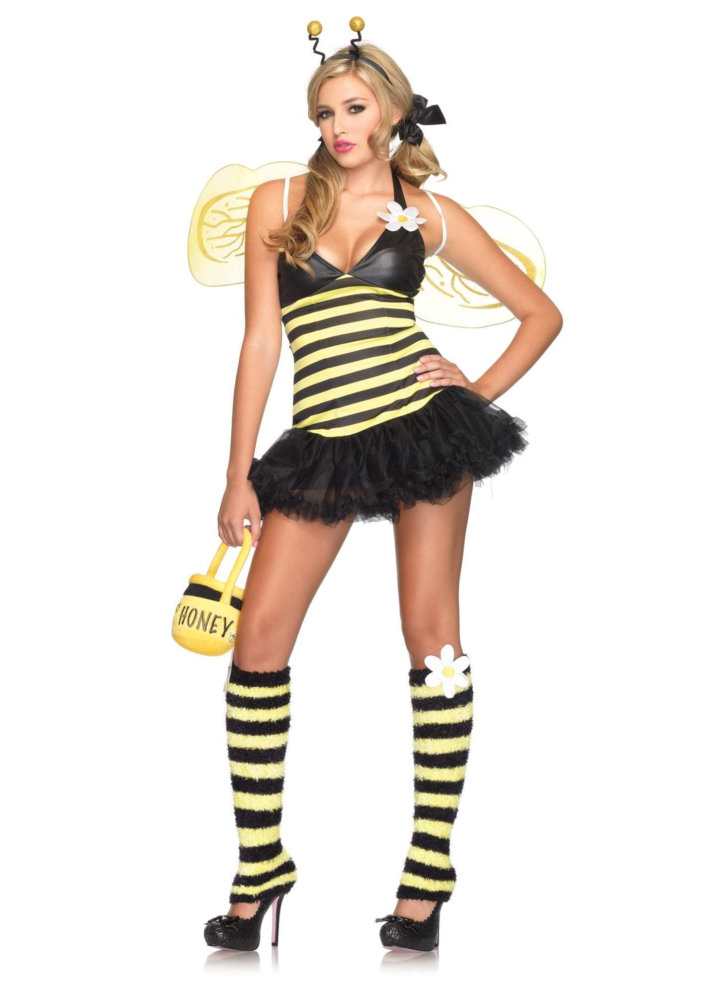 Leg Avenue Costumes YELLOW/BLAC / MED/LGE Daisy Bee Costume