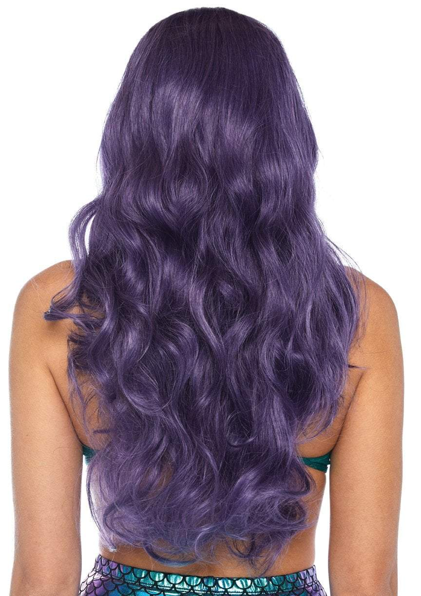 Leg Avenue Wigs Purple Mermaid Wavy Long Wig