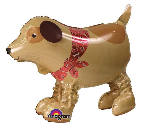 Mayflower BALLOONS Adorable Doggy Buddy Air Walker Balloon 22in
