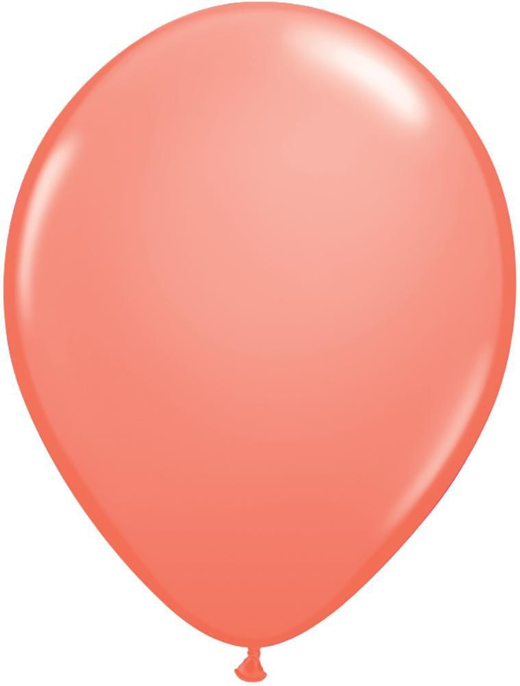 "Mayflower Balloons Coral 11"" Latex Balloon"