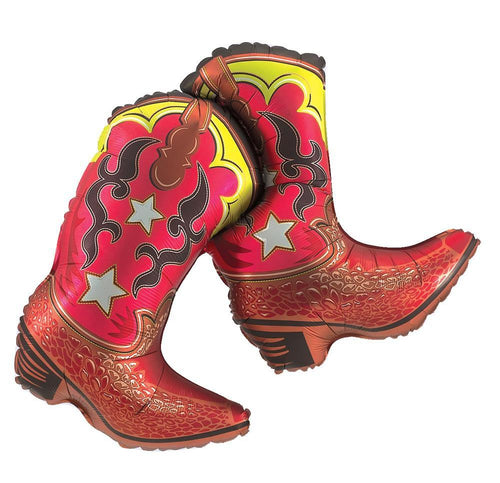 Mayflower Balloons Dancing Boots Western Balloon 36""