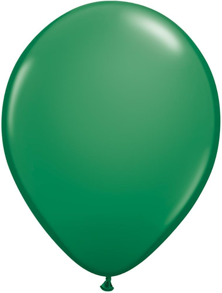 "Mayflower Balloons Dark Green 11"" Latex Balloon"