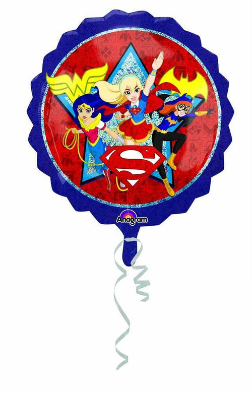 Mayflower Balloons DC Superhero Girls Jumbo Balloon 28""