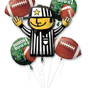 Mayflower Balloons Football Balloon Bouquet