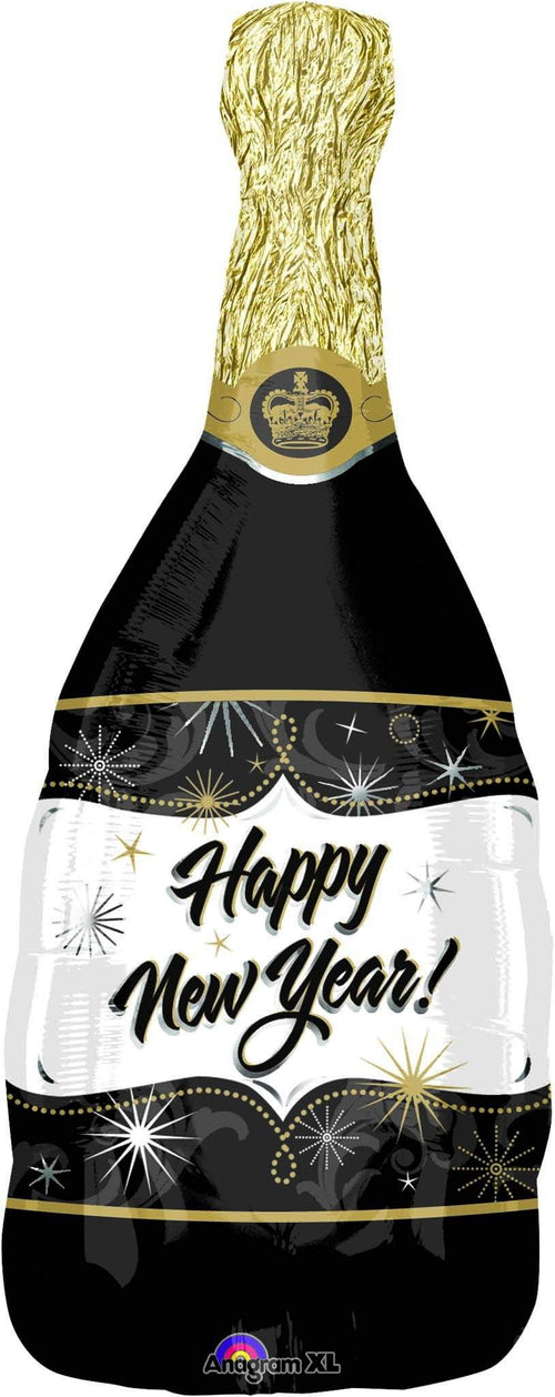 Mayflower Balloons Happy New Year! Champagne Bottle Jumbo Balloon 36""