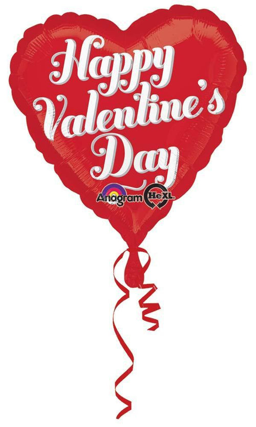 MAYFLOWER Balloons Happy Valentine's Day Curly Balloon 18""