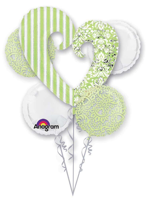 Mayflower Balloons Honeydew Wedding Shower Balloon Bouquet
