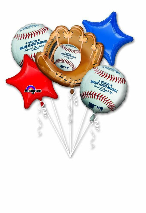 Mayflower Balloons MLB Baseball Bouquet