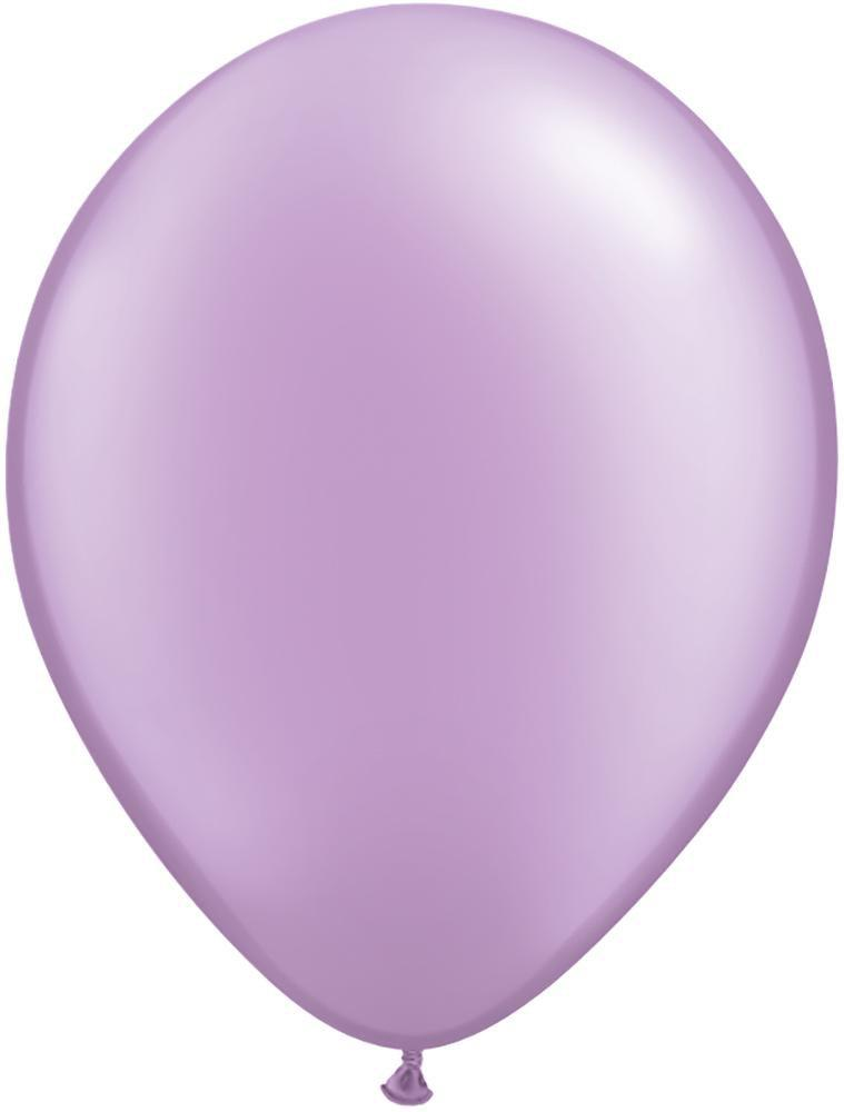 "Mayflower Balloons Pearlized Lavender 11"" Latex Balloon"