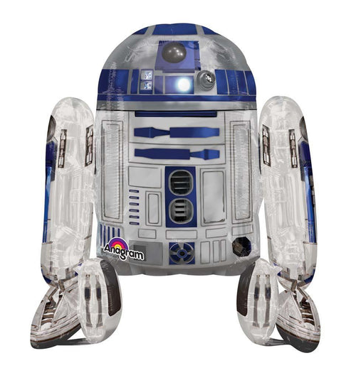"Mayflower BALLOONS R2D2 AirWalker Balloon 38"" - Star Wars"