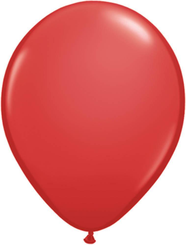 "Mayflower Balloons Red 11"" Latex Balloon"