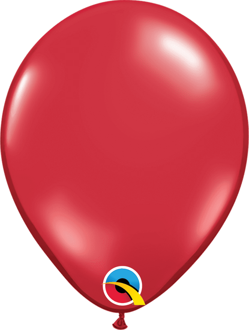 "Mayflower Balloons Ruby Red 11"" Latex Balloon"