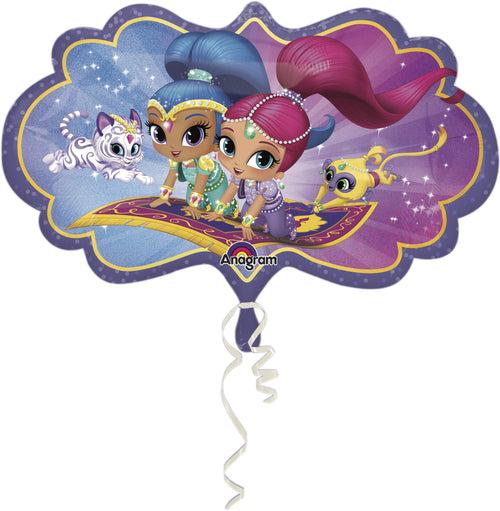 Mayflower Balloons Shimmer & Shine Jumbo Balloon 27""