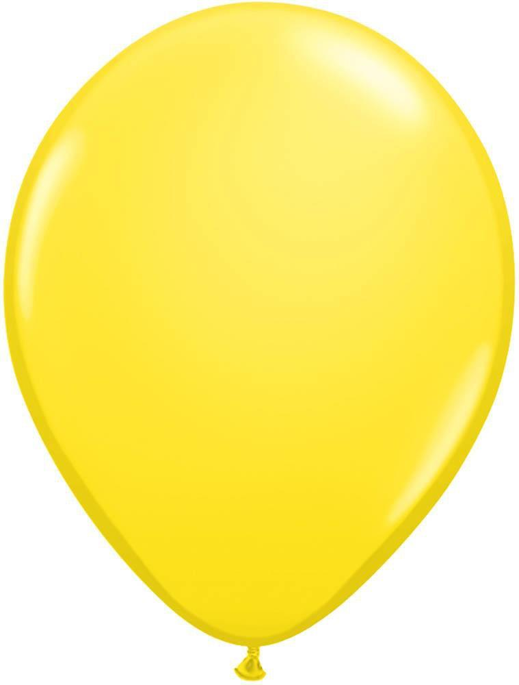 "Mayflower Balloons Yellow 11"" Latex Balloon"