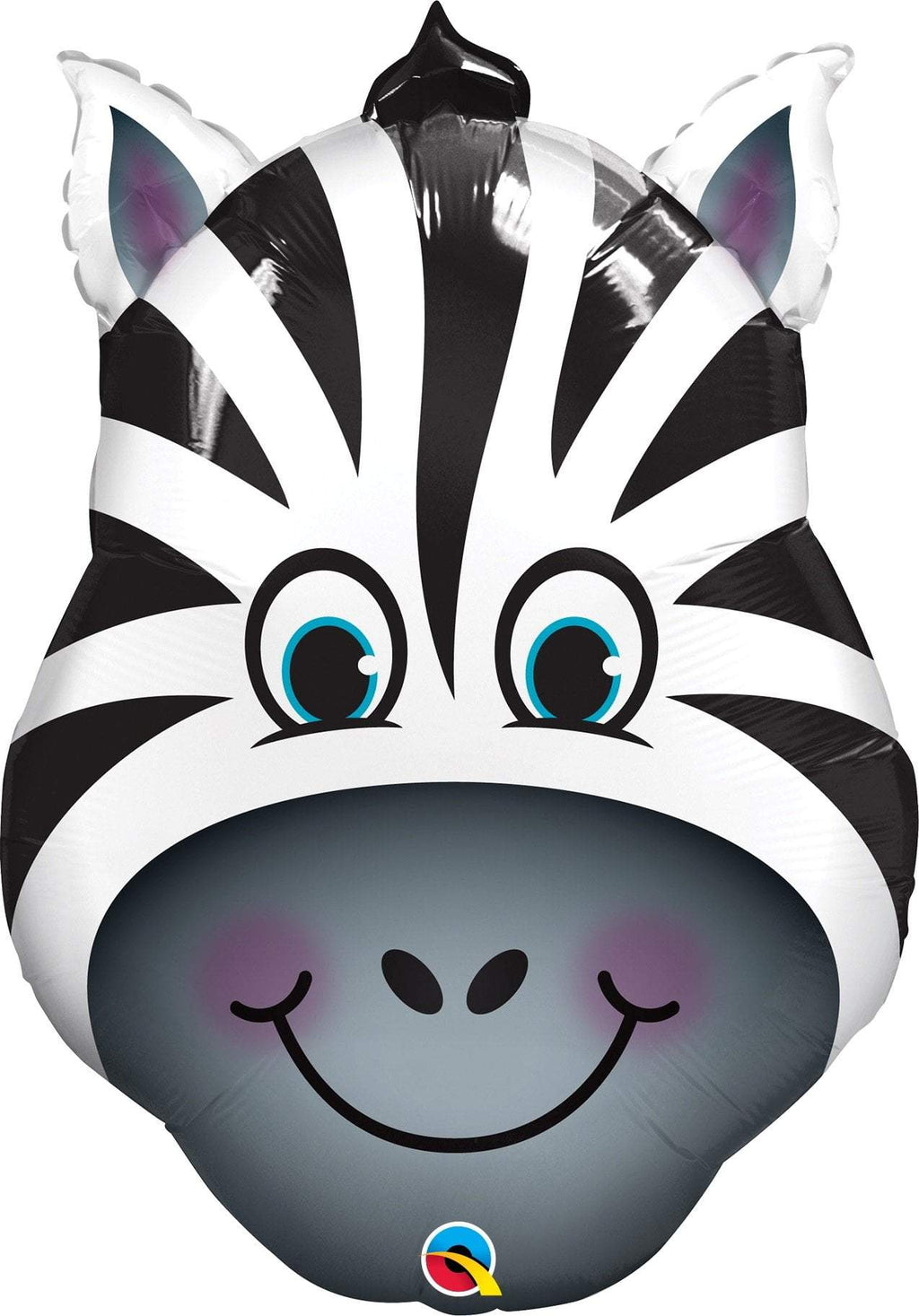 Mayflower Balloons Zany Zebra Jumbo Zoo Animal Balloon 32""