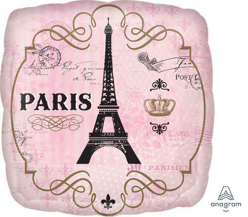 Mayflower Distributors Balloons A Day in Paris Mylar Balloon 18""