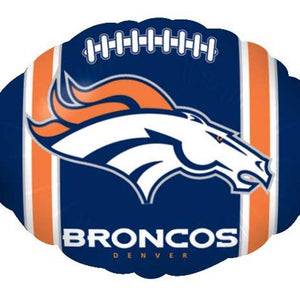Mayflower Distributors Balloons Denver Broncos Football Mylar Balloon 18""