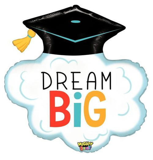 Mayflower Distributors balloons Dream Big Graduation Jumbo Balloon 29""
