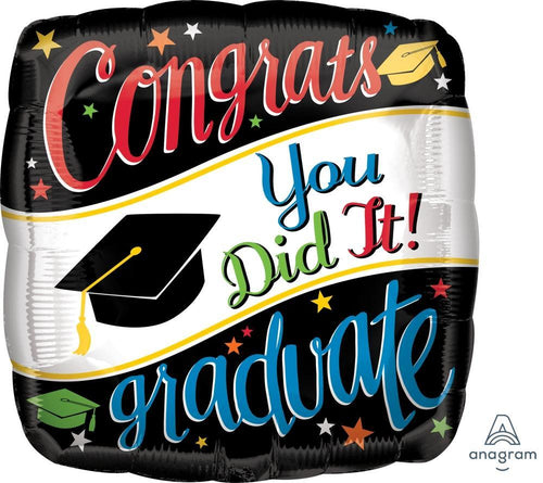 Mayflower Distributors Balloons Going Places Graduation Balloon 18""