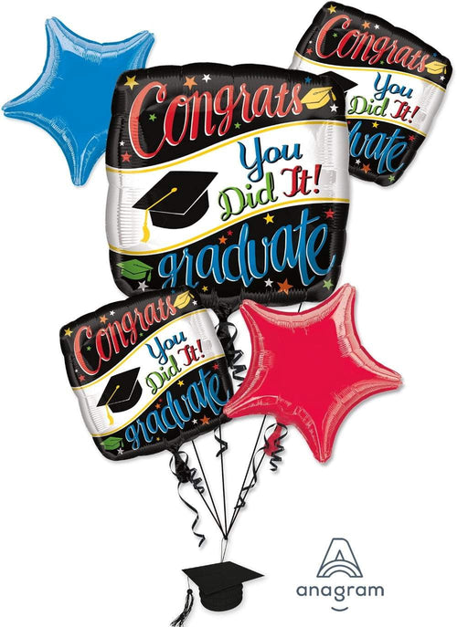 Mayflower Distributors Balloons Going Places Graduation Balloon Bouquet