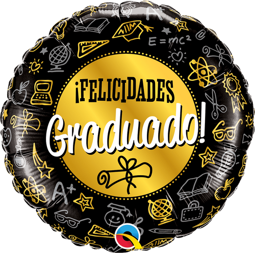 Mayflower Distributors Balloons Graduado Diploma Balloon 18""