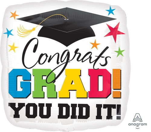 Mayflower Distributors Balloons Jumbo You Did It Grad Balloon 28""