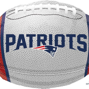 Mayflower Distributors Balloons New England Patriots Mylar Balloon
