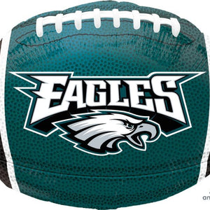 Mayflower Distributors BALLOONS Philidelphia Eagles Football Mylar Balloon 18""