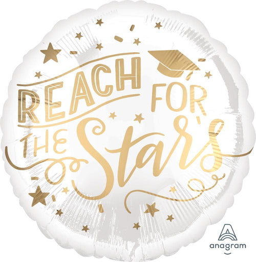 Mayflower Distributors Balloons Reach for the Stars Graduation Balloon 18""