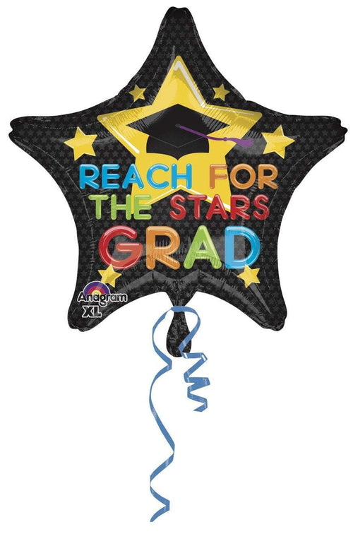 Mayflower Distributors Balloons Reach for the Stars Mylar Balloon 19""