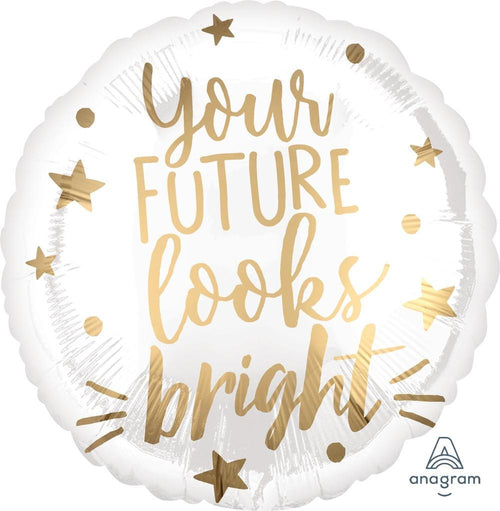 Mayflower Distributors Balloons You're Future Looks Bright Mylar Balloon 18""