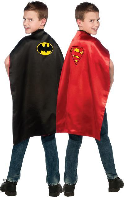 Rubies Costume Accessories Boys Batman & Superman Reversible Cape
